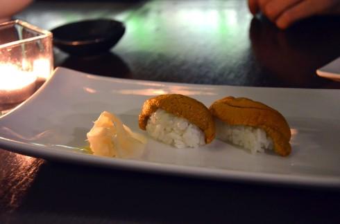 Uni (Sea Urchin) Sushi